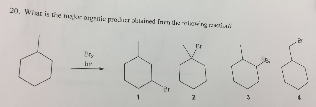 Solved: What Is The Major Organic Product Obtained From Th