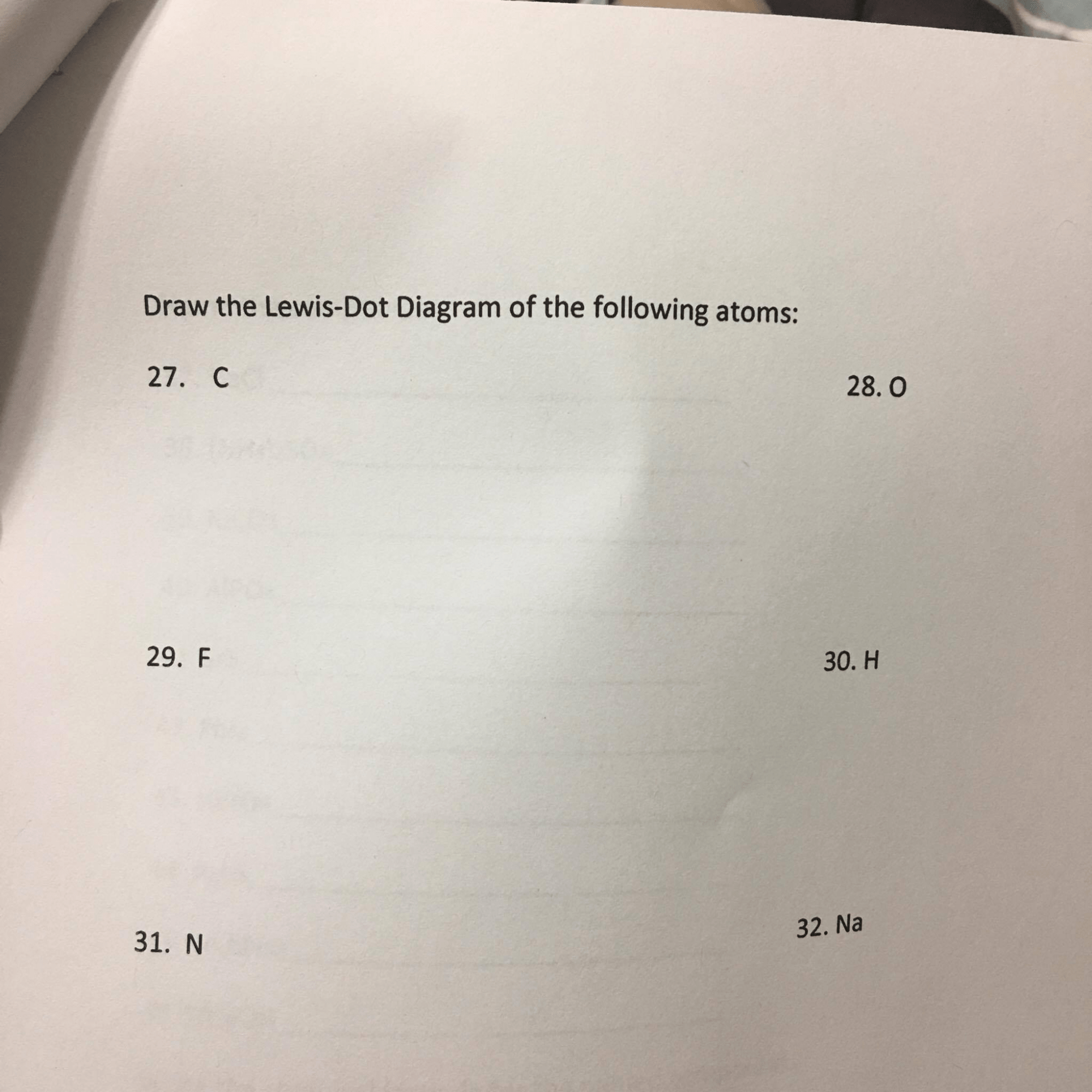 hight resolution of please help draw the lewis dot diagram of the following atoms