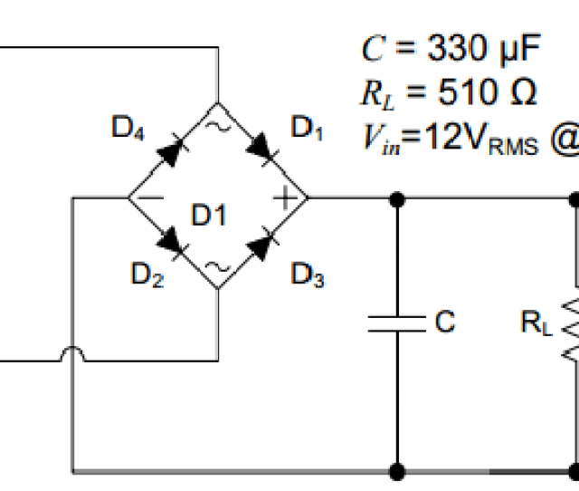 Question Part I For The Full Wave Bridge Rectifier In The Figure Below Assume Each Diodes Forward Voltage