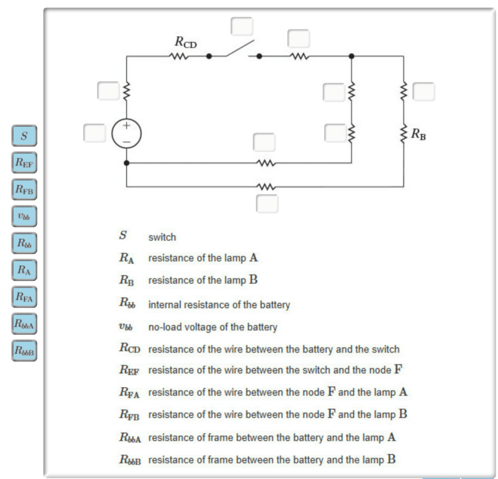 medium resolution of construct a circuit model using resistors and an independent voltage source identify the correspondence between the ideal circuit element and the symbol