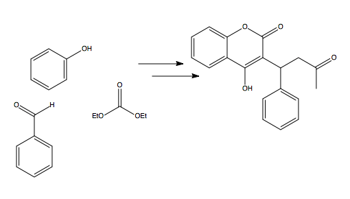 Solved: Provide Synthesis For Warfarin From Given Starting