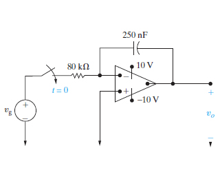 Solved: The Voltage Pulse Shown In (Figure 1) Is Applied T