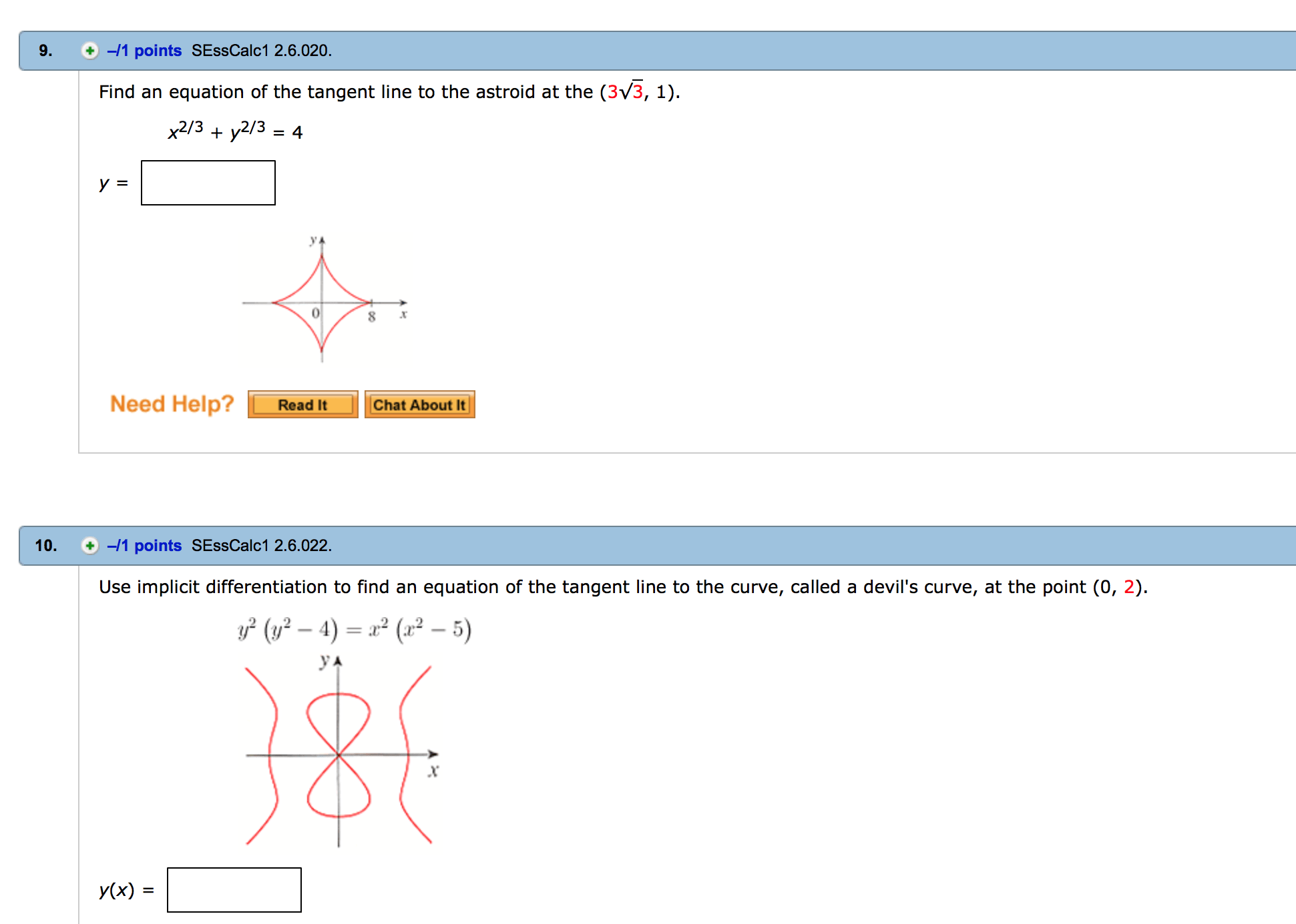 Solved Find An Equation Of The Tangent Line To Yhe Astero