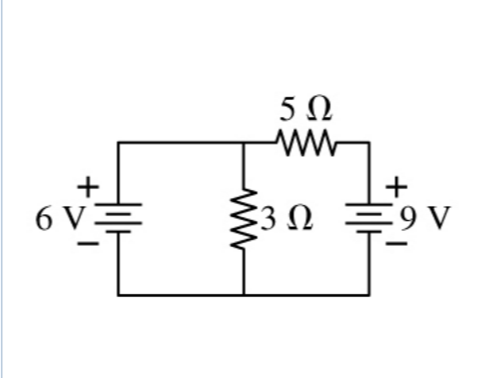 Solved: What Is The Current Through The 3 ? Resistor In Th
