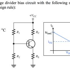 design a bjt voltage divider bias circuit with the [ 1804 x 894 Pixel ]
