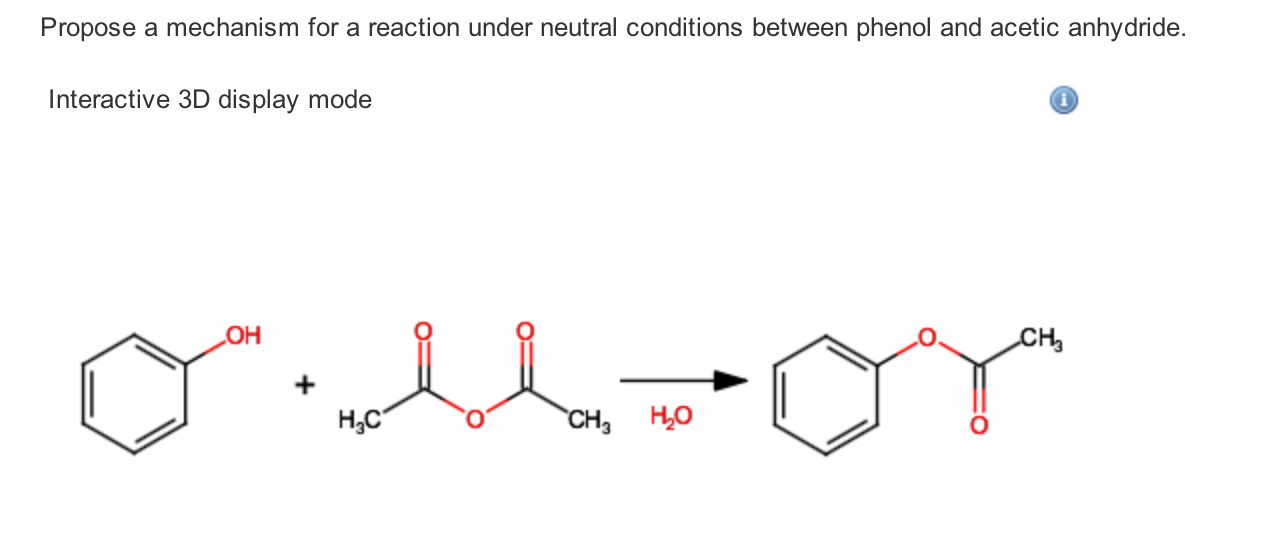 Solved: Propose A Mechanism For A Reaction Under Neutral C