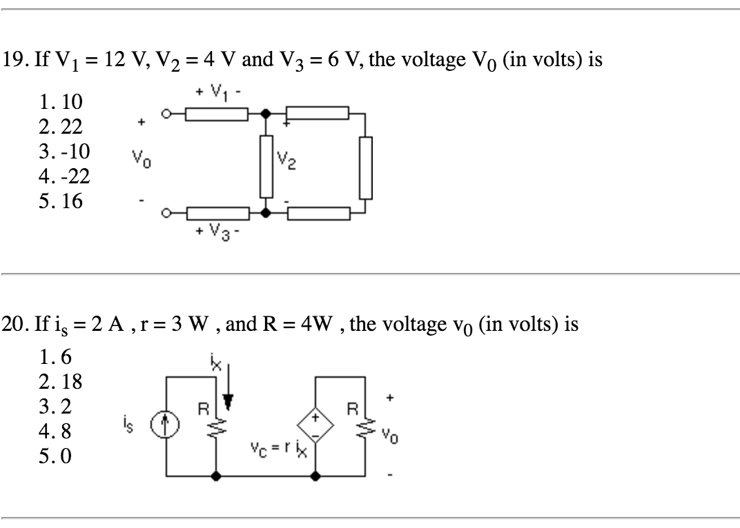hight resolution of if v 12 v v2 4 v and v3