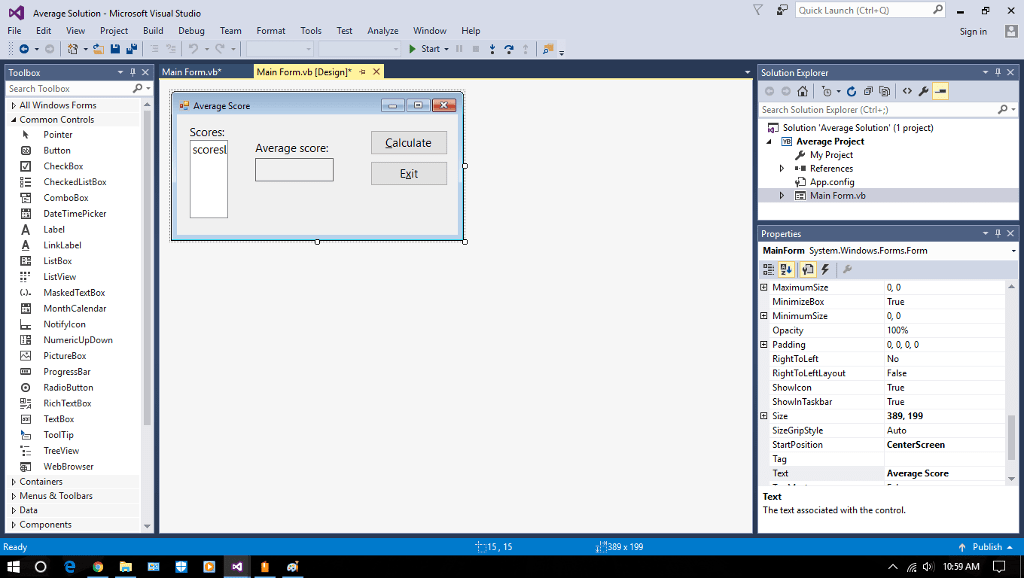 Solved Here Is The Problem From The Microsoft Visual Bas