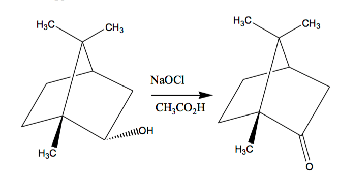 Solved: The Mechanism For The Sodium Hypochlorite Oxidatio