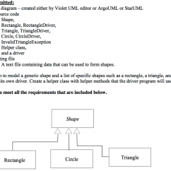 Class Diagram For Text Editor Friedland Transformer Wiring Solved Files To Be Submitted A Created Either By Violet Uml