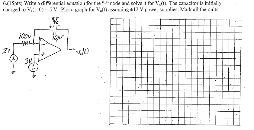 Solved: Write A Differential Equation For The