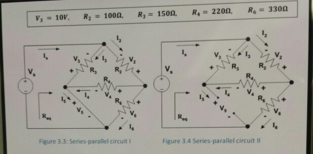 Solved: Find Is,i2,i3,i4 L,i5,i6 And All The Voltages At T
