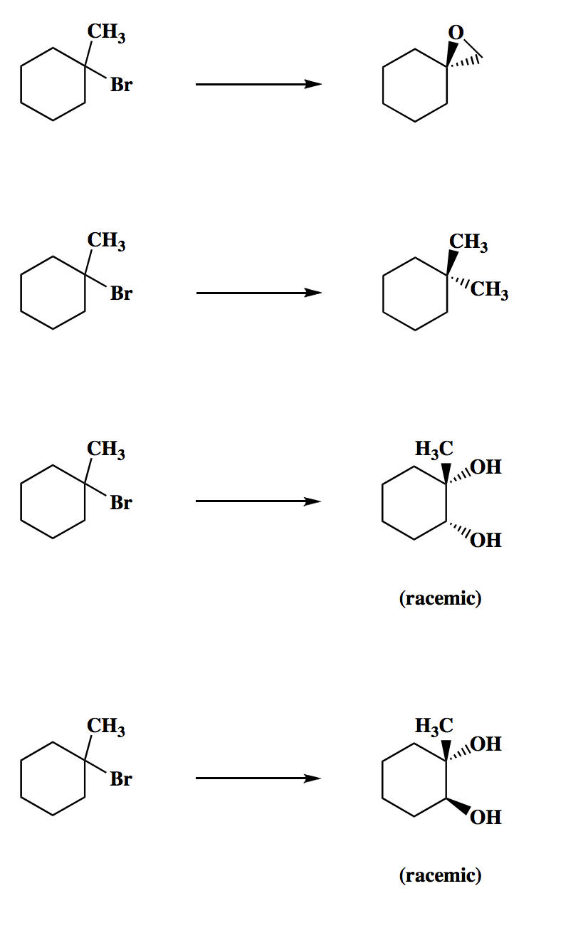 Solved: Draw The Specific Reagent Necessary To Effect The