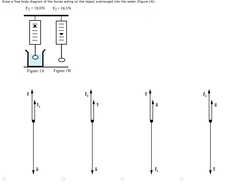 Solved: Draw A Free Body Diagram Of The Forces Acting On T