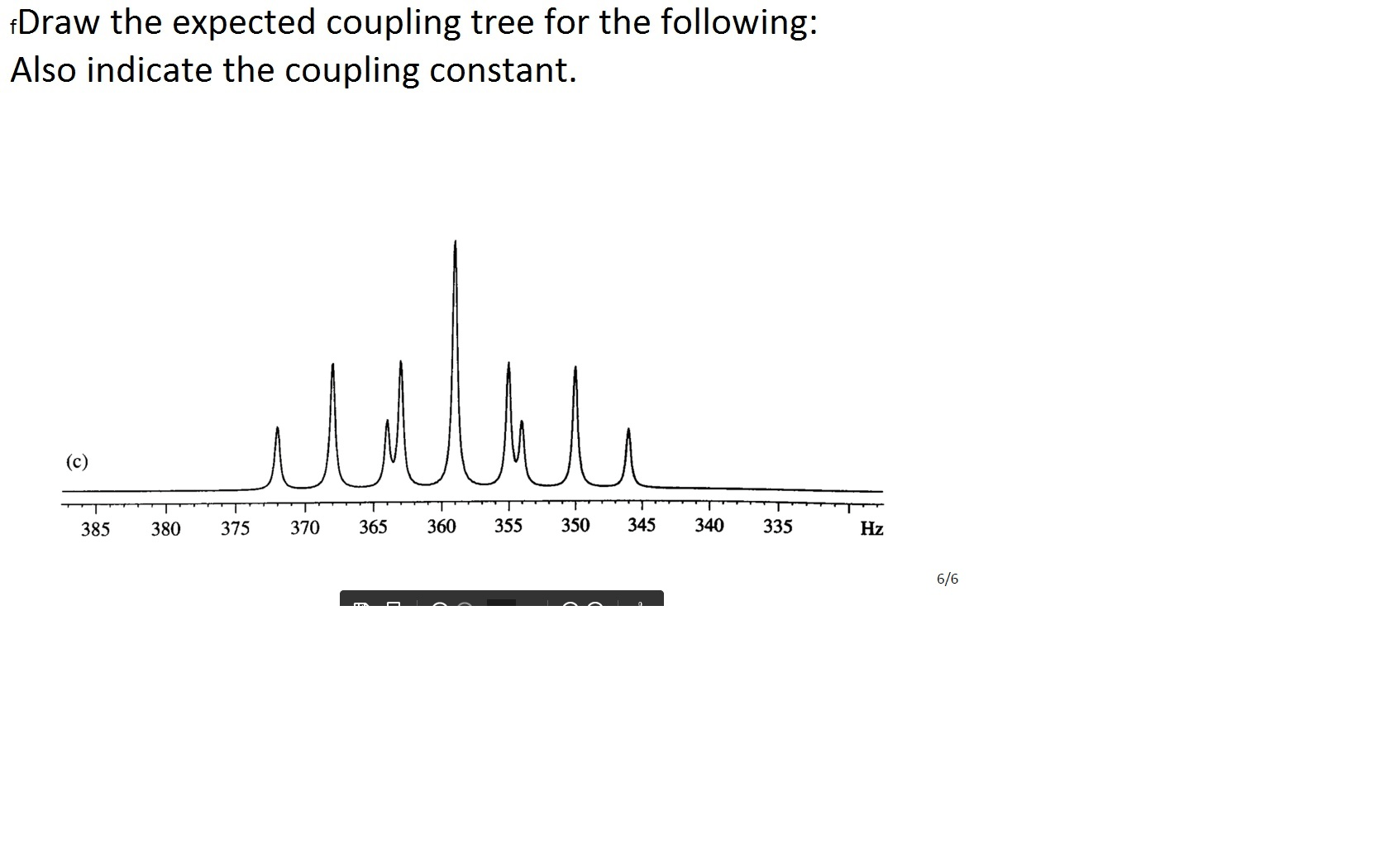 Solved Draw The Expected Coupling Tree For The Following