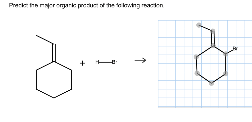 Solved: Predict The Product For The Following Reaction: Cl