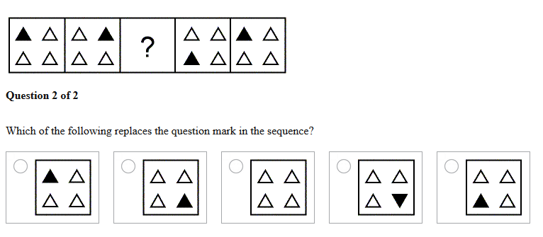 Solved: Section 2 Logical Reasoning Example Items AHH H Qu
