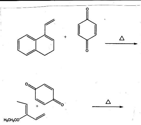Solved: Diels-Alder Predict The Product Please And Thank