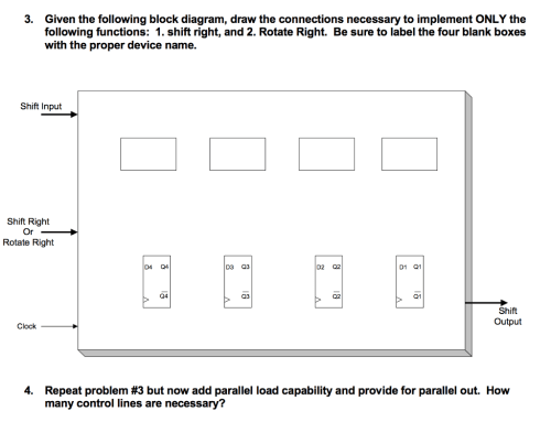 small resolution of given the following block diagram draw the connections necessary to implement only the