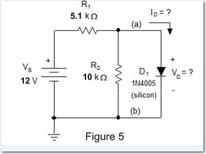 Solved: Part A)Use The Knee-voltage Diode Model To Determi