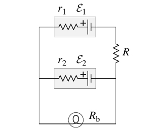 The Circuit Diagram Below Shows Two Emf Sources An