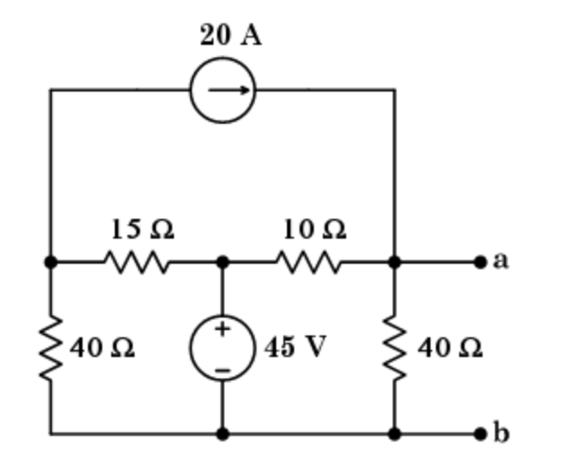 Solved: Calculate The Thevenin Voltage And Resistance