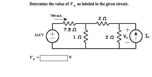 Solved: Use KVL And Ohm's Law To Obtain A Numerical Value