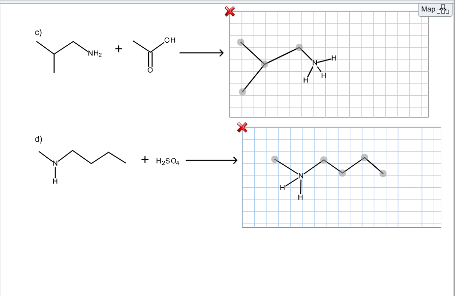 Solved: Draw The Products Of Each Acid-base Reaction