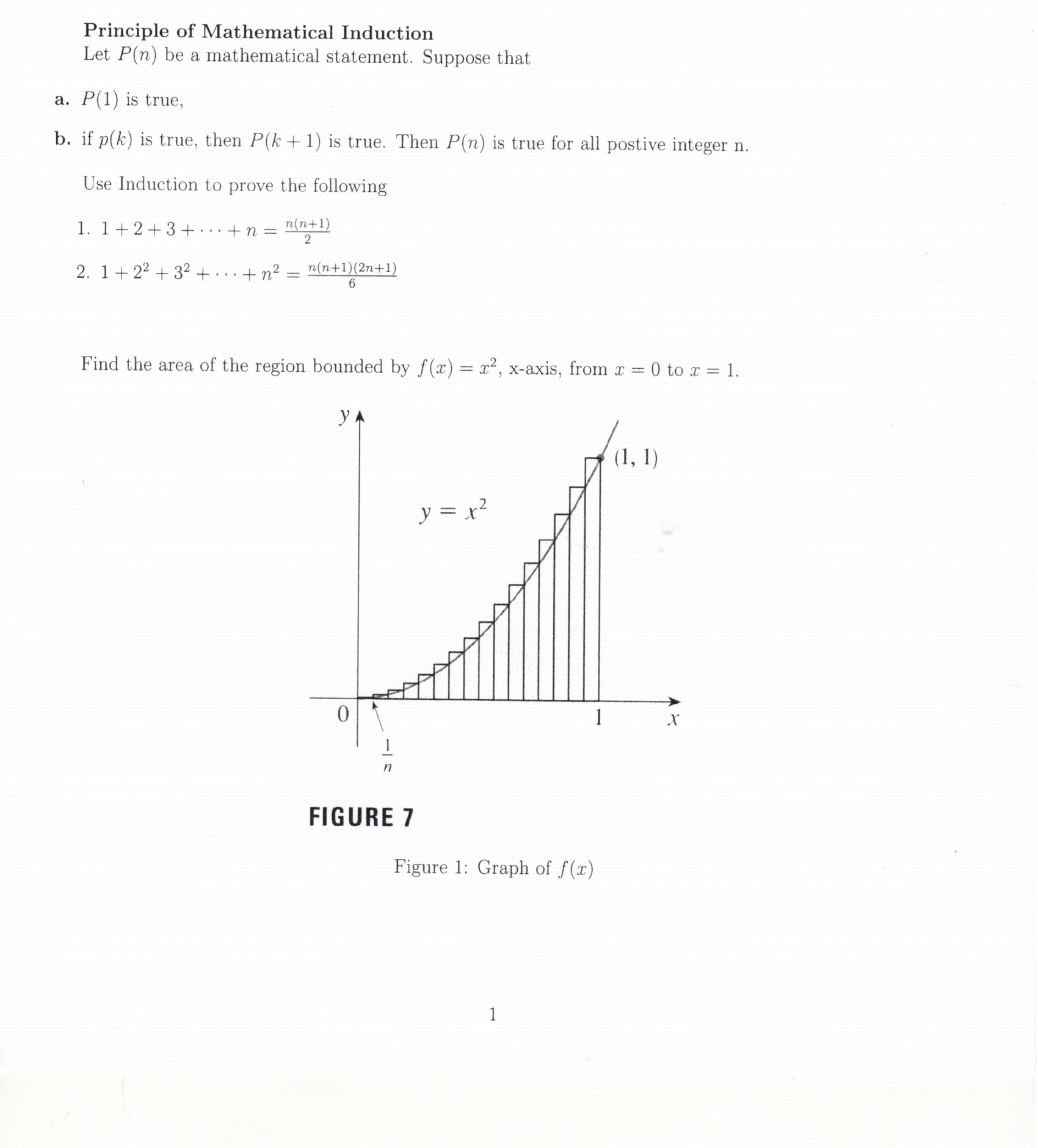 Solved: Please Answer By Using The Mathematical Induction