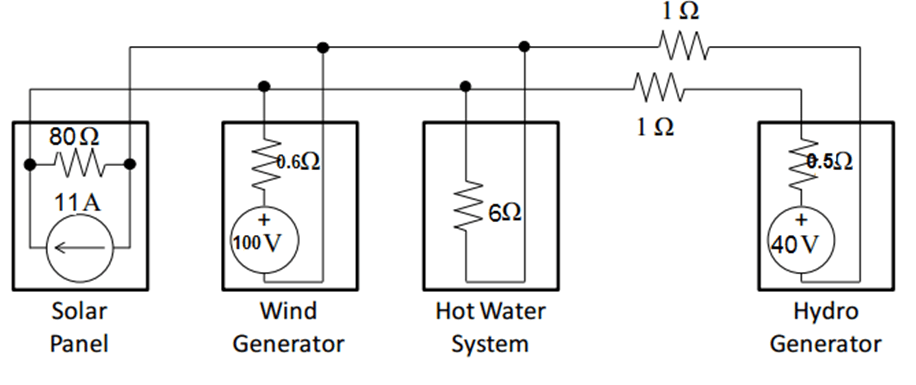 Solved: Draw A Circuit Diagram Of The System Described Abo