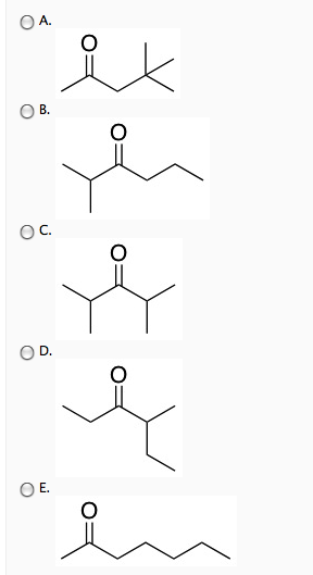 Solved: Which Structure Of Molecular Formula, C7H14O Fits