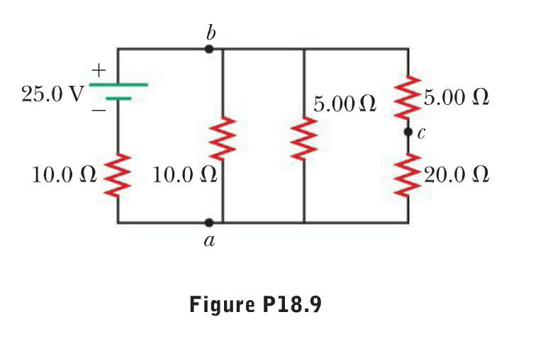 Solved: Consider The Circuit Shown In Figure P18.9. Find