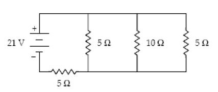 Solved: 1. What Is The Current In The 10- Ohm Resistor? Wh