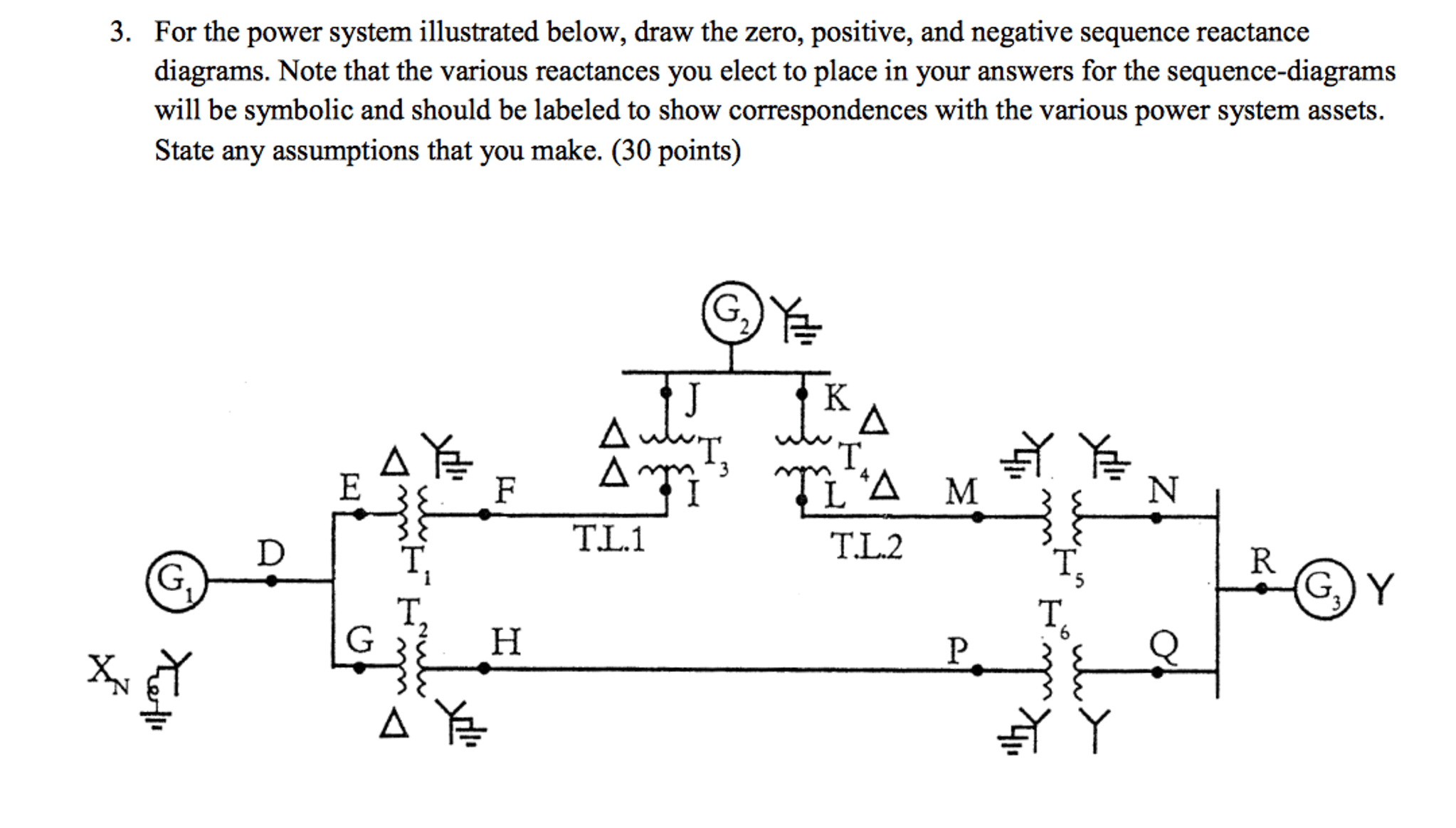 sequence diagram questions and answers on off toggle switch wiring solved for the power system illustrated below draw z