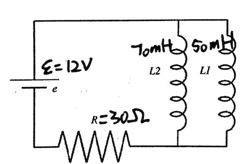 Solved: Inductors L1 L2 Connected In Series And Seperated