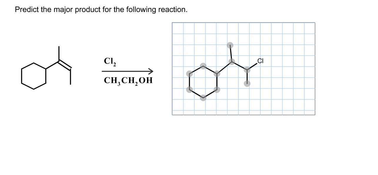 predict the neutral organic product of the following reaction
