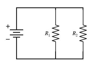 Solved: The Circuit Below Has Two Resistors, With R1 > R2