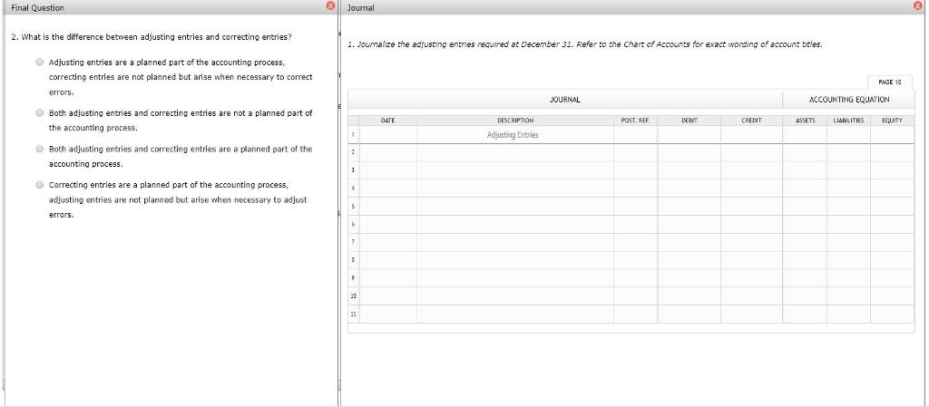 Chart Of Accounts Instructions CHART OF ACCOUNTS B