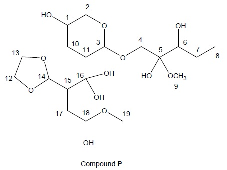 Solved: A)What Carbon Atoms In Compound P Are Hemiketal Ce