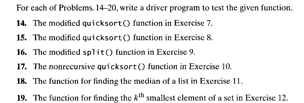 Solved: The Following Problems Except #3 Are Adopted From