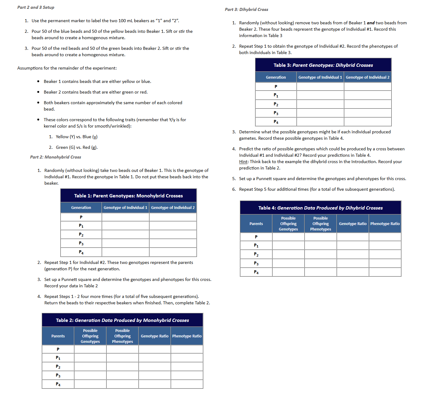 Punt Square Worksheet 2 Answer Key