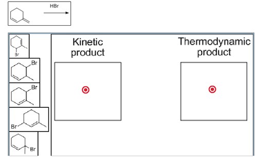 Solved: Predict The Kinetic And Thermodynamic Products Of