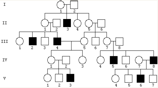 Solved: Does The Following Pedigree Depict An Autosomal Re