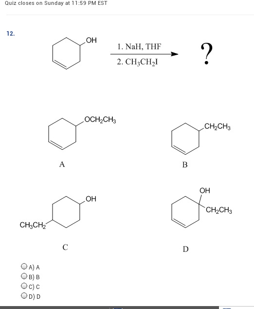 Solved: Predict The Products Of The Following E2 Reaction
