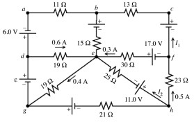 Solved: A Multiloop Circuit Is Shown In The Figure. Some C