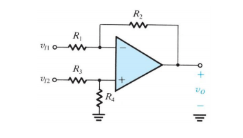 Solved: Design A Difference Amplifier Circuit To Realize A