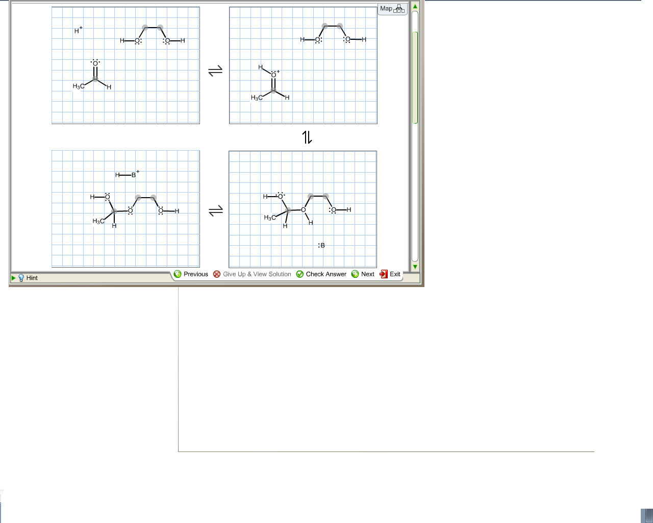 Solved: Complete The Electron Pushing Mechanism For The Fo