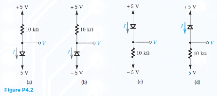 Solved: For The Circuit Shown In Fig. P4.2 Using Ideal Dio