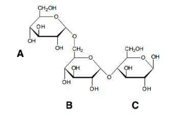 Solved: Panose Is A Trisaccharide That Is Being Considered