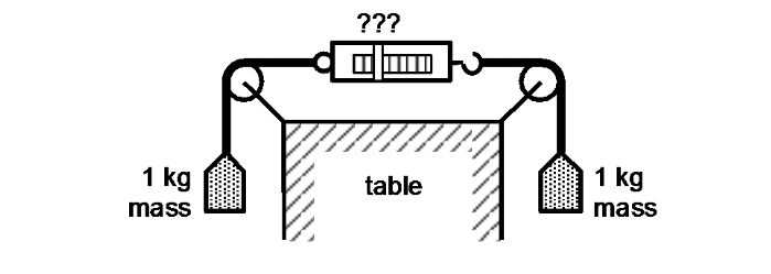 Solved: Double Pulled Scale II 1. Consider The Situation S